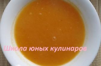 Простой суп тыквенный постный (пюре)