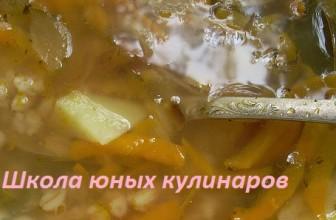 Постный рассольник с перловкой: рецепт с фото
